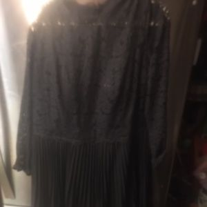 Light in the Box Black Party Dress 24w (19)